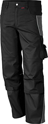 Qualitex PRO Bund-Hose Arbeits-Hose MG 245 - schwarz - Größe: 66