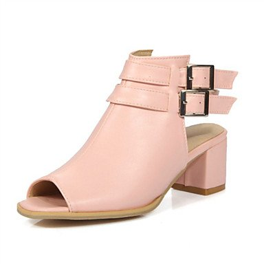Sandales femmes Printemps Été Automne Nouveauté Chaussures confort Club Glitter Supports personnalisés mariage robe de plein air CasualChunky en similicuir Blushing Pink