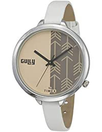 Gully by Timex Prints Analog Pink Dial Women's Watch-TW013HL18