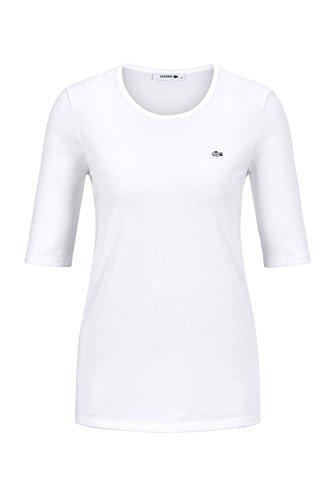 lacoste-tf8065-klassisches-damen-basic-t-shirt-rundhals-3-4-arm-kurzarm-regular-fit-fur-freizeit-und