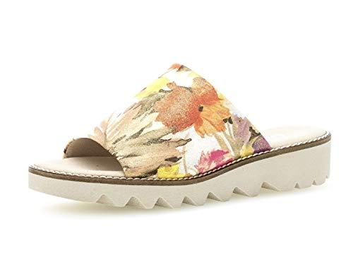 Gabor 22.700 Damen Sandalen,Plateausandalen, Frauen,Plateau-Sandalette,Sommerschuh,Dicke Sohle,Comfort-Mehrweite,Cipria,6.5 UK (Sandal Flower Pink)