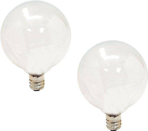 GE LIGHTING 4441440Watt 290-lumen Kandelaber Boden g16.5Globe Glühbirne, weichen, weißen 40.00 W 120.00 voltsV (120v Ge Bulbs Light)