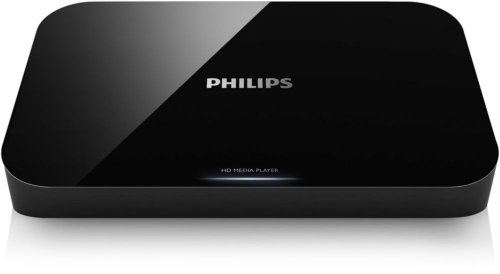 Philips HMP3000/12 HD Media-Player (DivX+ HD, HDMI, Upscaler 1080p, SD/SDHC-Karte, USB 2.0, Fernbedienung) schwarz