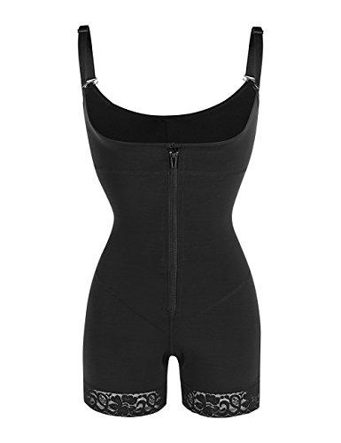FeelinGirl Damen Shapewear Bauch Weg Figurformender Miederhosen Taillenformer Miederpants Miederslip Body Shaper - 5