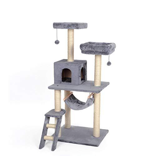 Cat Tree Board Condo Luxus Katze kratzt große Klettergerüst für Katze Kittern Spielzeug Haus