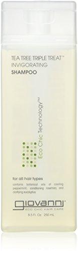 Giovanni Hair Care Products Tea Tree Triple Treat Shampoo 235 ml -