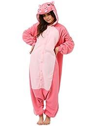Fleece Pijama Kigurumi–Hipopótamo