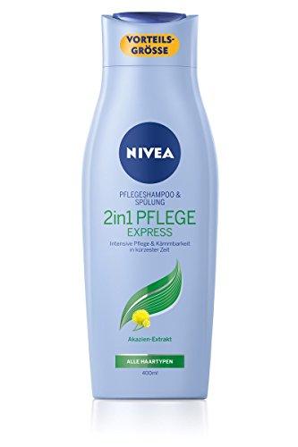Preisvergleich Produktbild Nivea 2 in 1 Pflege Express Shampoo und Spülung, 6er Pack (6 x 400 ml)