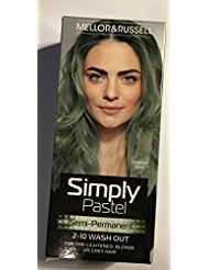 simplement Pastel Semi Permanent Teinture capillaire - Forest Dew X 3 - Vert Pastel