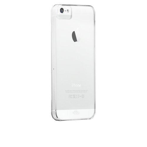 Case-Mate Barely There Case für Apple iPhone 5 / 5S / SE in transparent [Extrem dünn | Sehr leicht | Kratzfeste Oberfläche] - CM022584