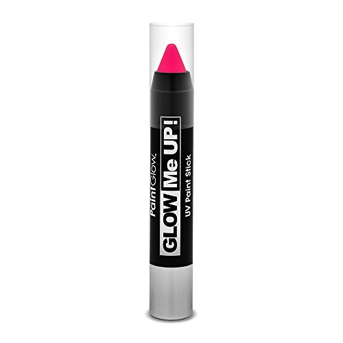 Smiffys - SM46138 - Crayon Maquillage UV 3 g Magenta - Taille Unique