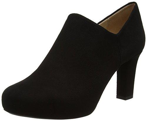 Unisa Nenet_f17_ks, Zapatos de Tacón para Mujer, Negro