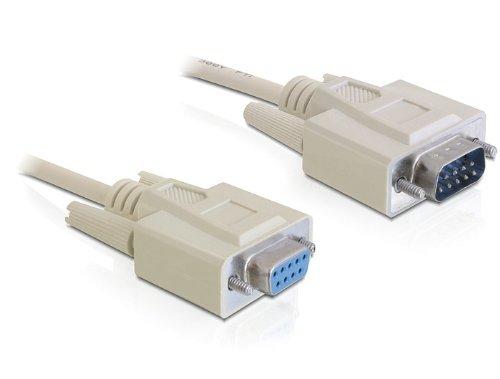 DeLock Seriell-verschluss Kabel (2m) beige (Buchse Kabel Serielles)