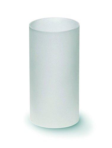 Windlichtglas matt ohne Boden - 1 Stück (ZK-31) -