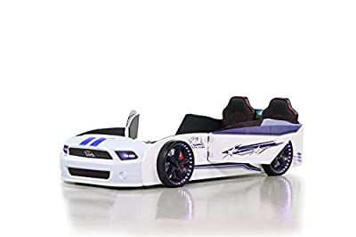 Cama para coche Must Rider (color blanco)