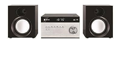 Tokai M038 Micro Chaine Bluetooth pour Smartphone Bluetooth/Tablette Bluetooth Noir/Argent par TOKAI