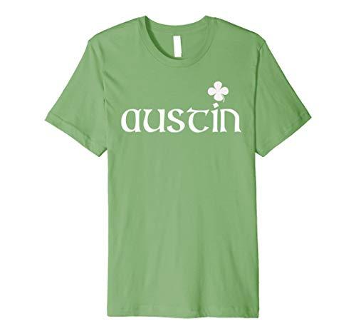 St Patricks Day Funny Novelty T-Shirt - Austin Shamrock