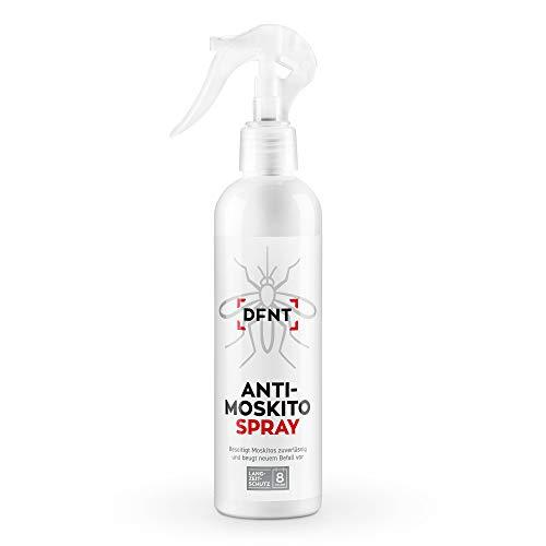 DFNT Anti Moskito Spray   250 ml Geruchsneutrales Mückenspray   Biologisch abbaubares Mücken Abwehr   Moskitonetz und Mückenstecker Ergänzung