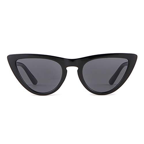 ZRTYJ Sonnenbrille White Cat Eye Sunnies Sonnenbrille Frauen Markendesigner Vintage Ceteye Objektiv Urban Chic 90er Jahre Sonnenbrille