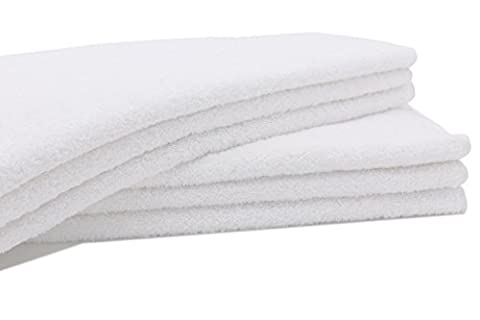 ZOLLNER® 6er-Set Handtücher in flauschiger Frotteequalität weiß 50x100 cm aus 100% Baumwolle, Gewicht ca. 520 g/qm, in weiteren Farben erhältlich, in Premium-Qualität, Serie