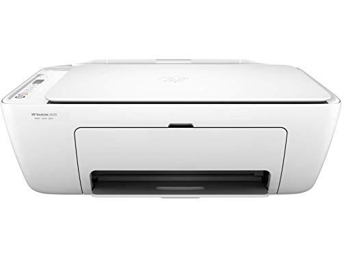 HP Deskjet 2620 V1N01B Stampante Multifunzione a Getto di Inchiostro, Stampa, Scannerizza, Fotocopia, Wi-Fi e Wi-Fi Direct, 3 Mesi di Instant Ink Inclusi nel Prezzo, Bianco