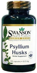 Swanson Psyllium Husks (610mg, 100 Capsules) by Swanson Health Products