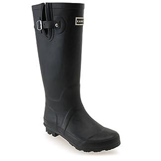 Kangol Womens Tall Wellies Ladies Wellington Boots Rubber Rain Design