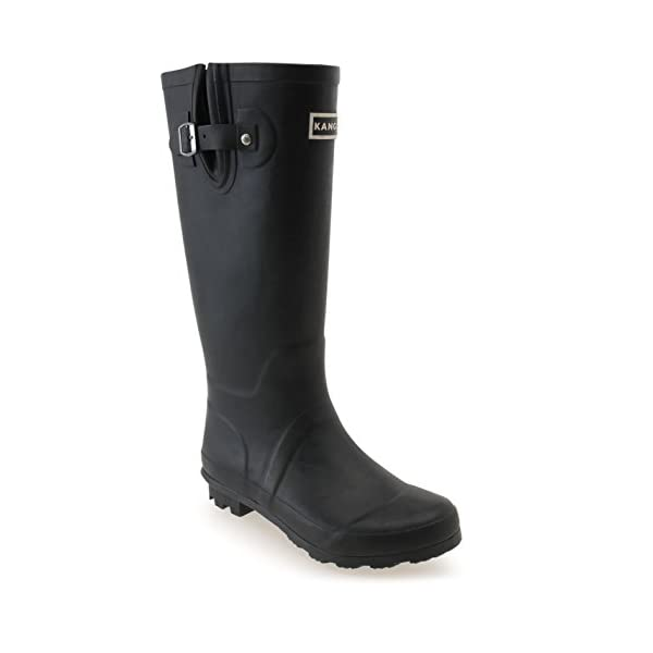 Kangol Womens Tall Wellies Ladies Wellington Boots Rubber Rain Design 1
