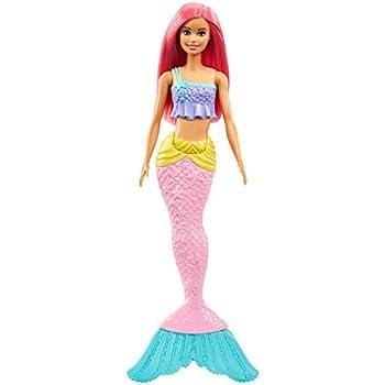 Barbie- Dreamtopia Sirena, Bambola con Coda Che Si Muove