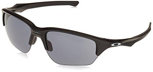 Oakley Herren Flak Beta 936301 64 Sonnenbrille, Schwarz (Matte Black/Grey),