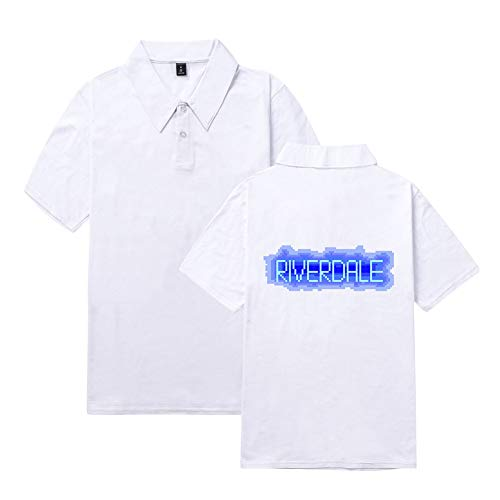 Unisex Riverdale Polo T-Shirt Southside Serpents Shirt Kurzarm Sommer Sport Shirt Unisex Herren Damen Tee Tops ()