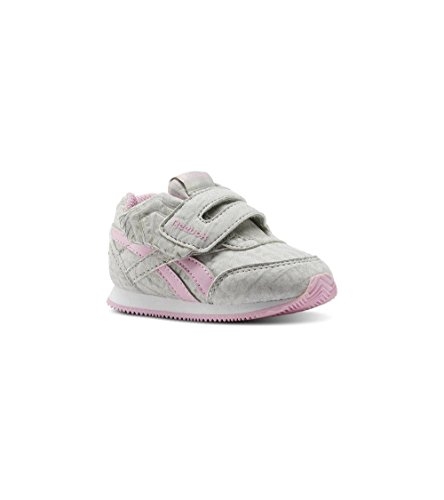 Reebok Royal Cljog 2 Kc, Chaussures de Trail Mixte Enfant, Gris (Elephant/Cloud Grey/Charming Pink 000), 24 EU