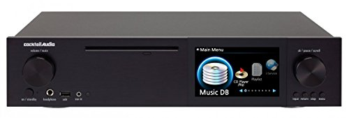 CocktailAudio X40-0-B schwarz (HD HiFi Musik Server, HDD Ready, Wlan)