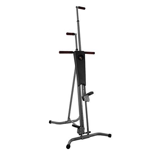 BuoQua P8006 Climber Fitnessgerät für Ganzkörpertraining LCD Climbing Machine Sportgerät für zu Hause Vertikal Climber Stepper