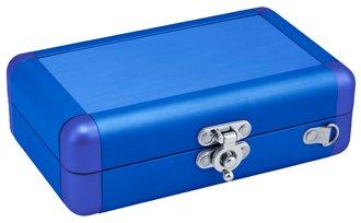Valise de transport en aluminium pour DSi/DS Lite - Bleu