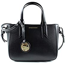 Emporio Armani Twin Handle Donna Handbag Nero 47d353b62d2