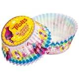 TROLLS 339244 Caissette Cupcake 50 Pièces Papier Multicolore 5 x 5 x 3 cm