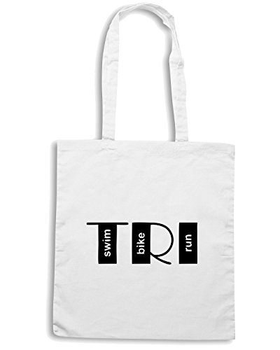 T-Shirtshock - Borsa Shopping OLDENG00279 tri Bianco