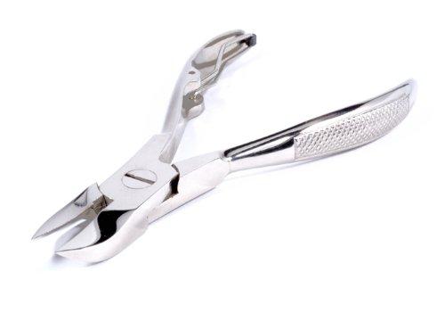 blueINOX Pince à ongles en acier inoxydable Chromé 10 cm 15 mm