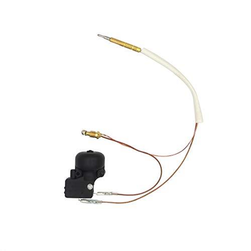 Meter Star CE- und CSA-geprüfte Einheit Gas-Terrassenheizer, Sicherheitsset für Propangas-Terrassenheizung, Ersatzteile, Thermokoppler und FD4 Dump Safety Switch Control -