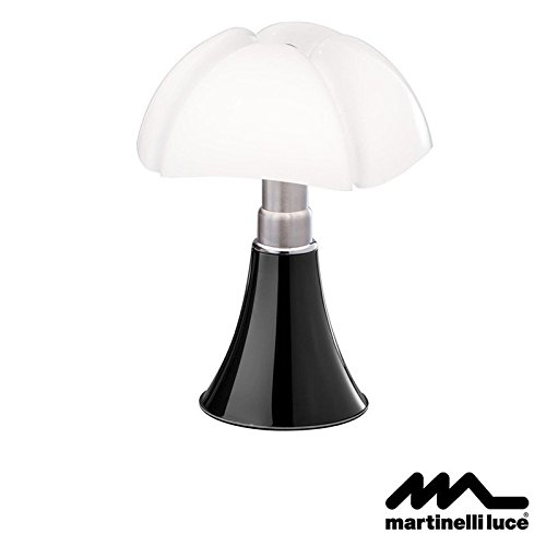 Martinelli Luce Pipistrello LED Lampe de table noir 110 V USA
