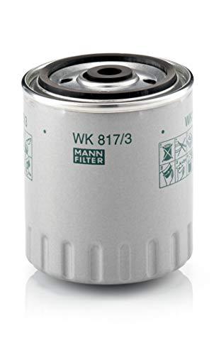 Originale MANN-FILTER Filtro Carburante WK 817/3 X – Set Filtro Carburante con Guarnizione / Set di Guarnizioni – Per Veicoli Commerciali