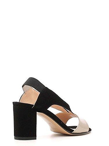 GRACE SHOES 526 Sandalo Tacco Donna Nero