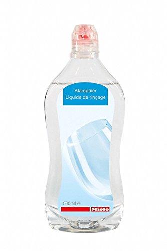 Miele 10198770 Klarspüler Geschirrspülerzubehör / 500 ml / Strahlender Glanz (für Ihre Gläser)