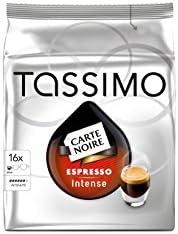 Tassimo - Capsulas Café Molido Instantaneo Expreso, paquete de 5 unidades/ 16 cápsulas