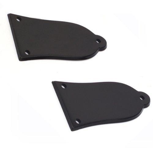 DN Plastica nera del Rod del fascio della copertura di LP Chitarra Nuova (confezione da 2) - Rod Del Fascio