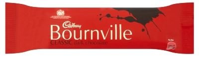 CADBURY BOURNVILLE DARK CHOCOLATE 45g (36 BARS)