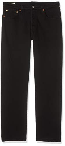Levi's Damen 501 Crop Boyfriend Jeans, Schwarz (Black Heart 0085), 28W / 26L -