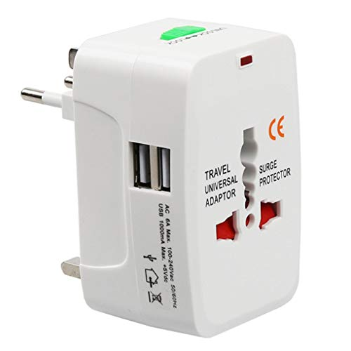 Busirde Elektro-Steckdose Adapter International Travel Universal USB Power  Charger Converter Sockel