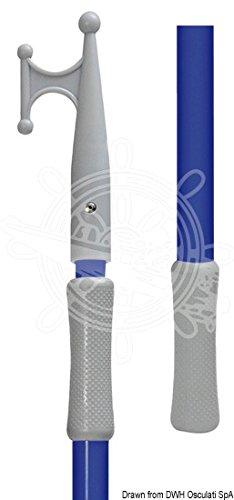Osculati 34.458.81 - Easy Mooring ausziehbarer Bootshaken, blau